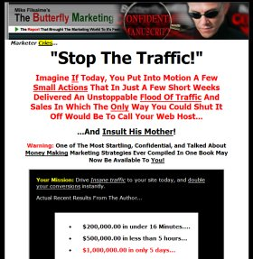 Butterfly Marketing Manuscript Copywriting